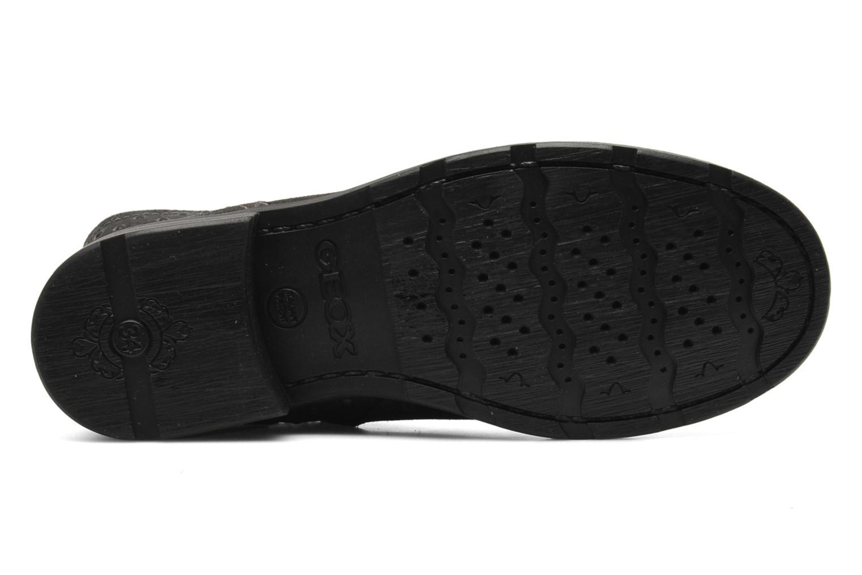 Stiefeletten & Boots Geox JR SOFIA A schwarz ansicht von oben