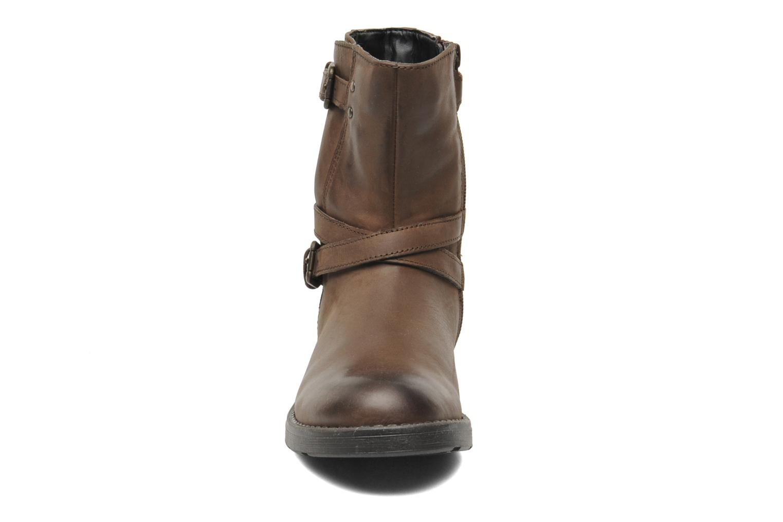 Stiefeletten & Boots Geox JR SOFIA I braun schuhe getragen