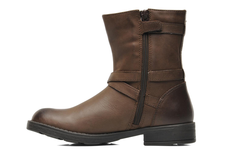 Stiefeletten & Boots Geox JR SOFIA I braun ansicht von vorne
