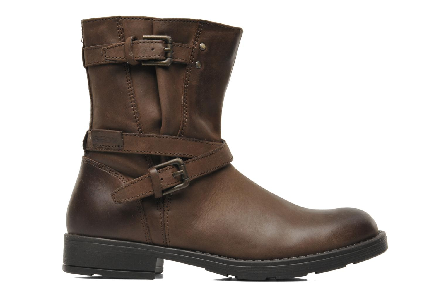 Ankle boots Geox JR SOFIA I Brown back view