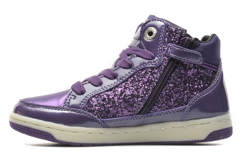 Sneakers Geox JR CREAMY B Paars voorkant