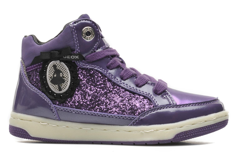 Sneakers Geox JR CREAMY B Paars achterkant