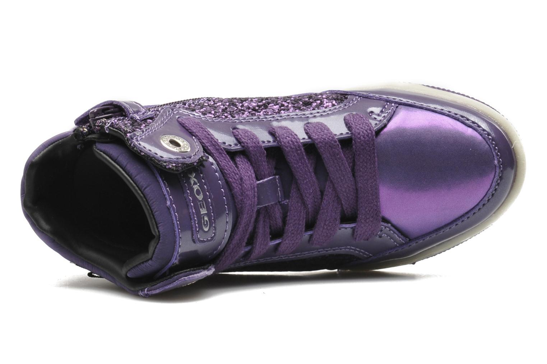 Sneakers Geox JR CREAMY B Paars links