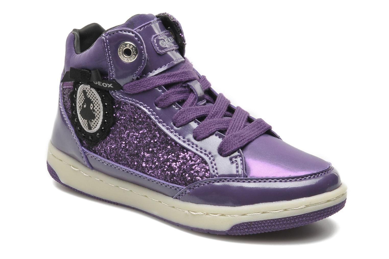 Sneakers Geox JR CREAMY B Paars detail