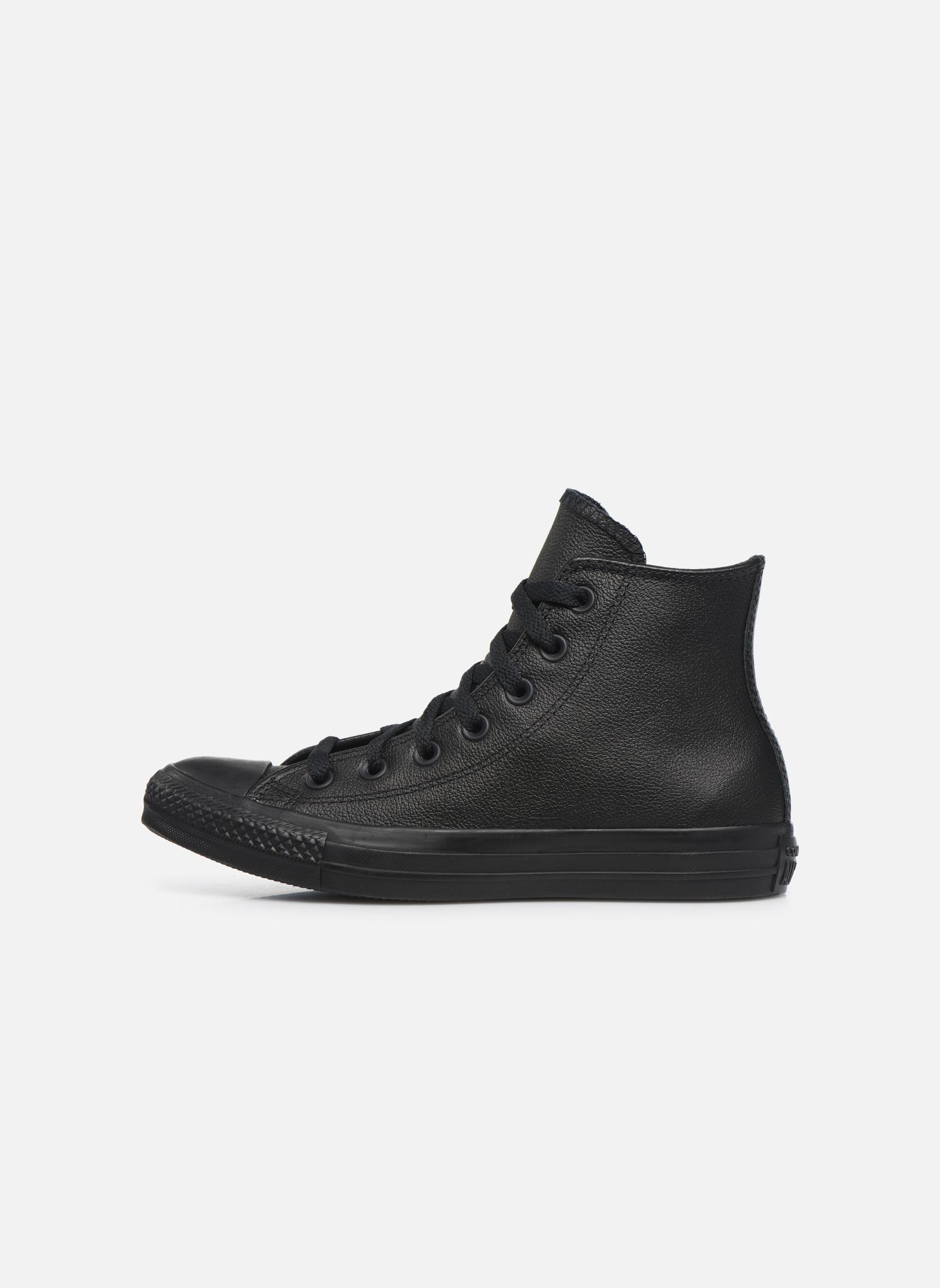 Deportivas Converse Chuck Taylor All Star Mono Leather Hi W Negro vista de frente