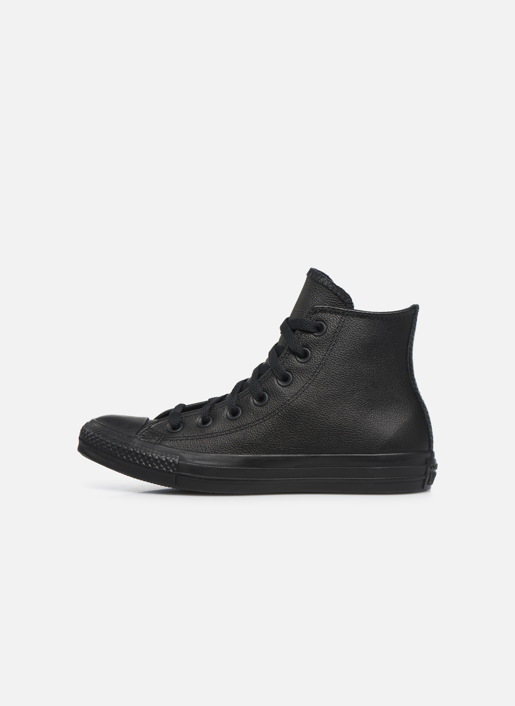 Deportivas Converse Chuck Taylor All Star Mono Leather Hi W Negro vista de frente