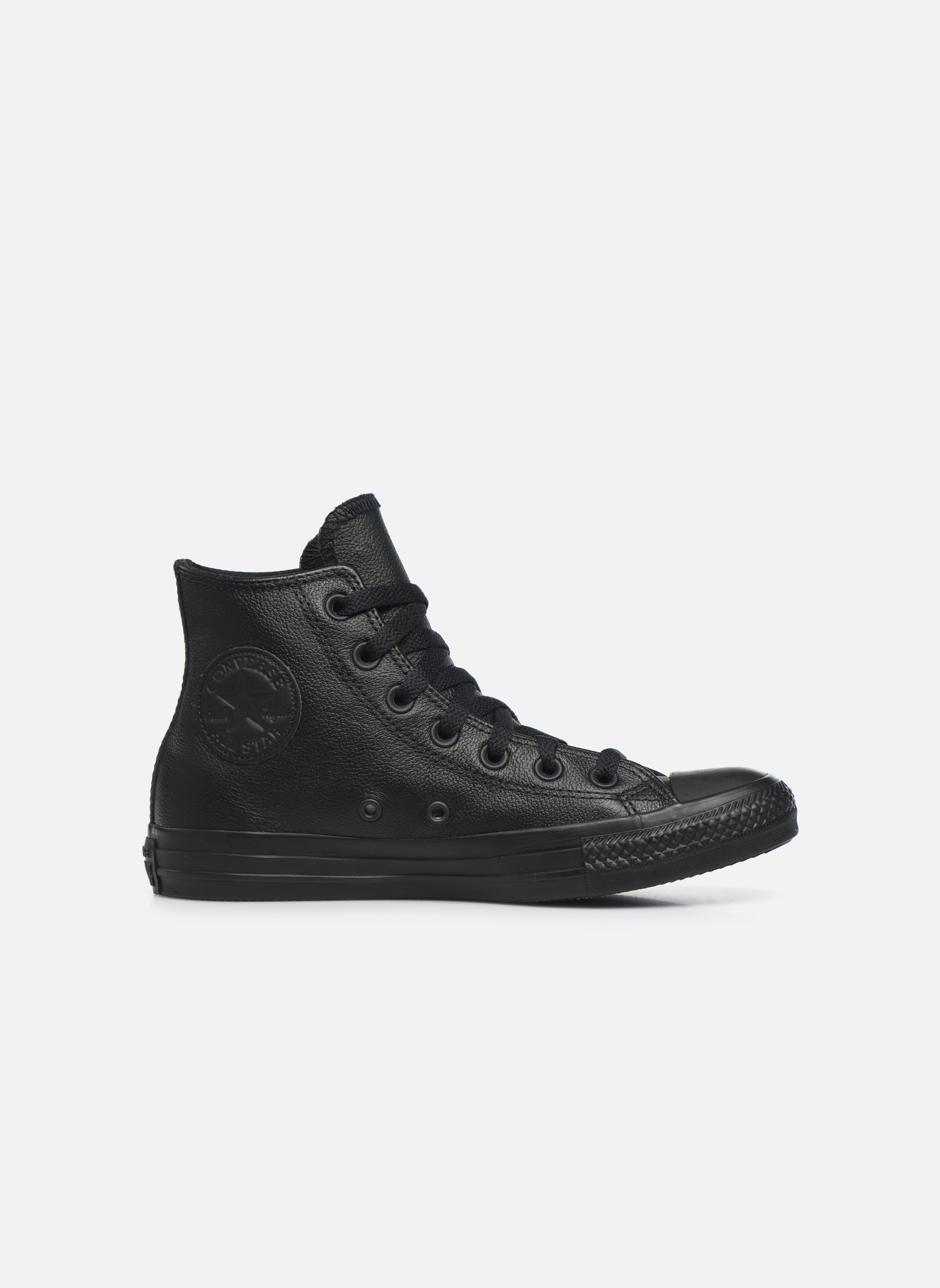 Deportivas Converse Chuck Taylor All Star Mono Leather Hi W Negro vistra trasera