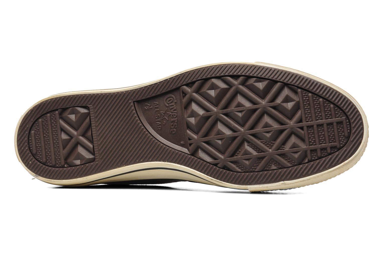 Sneaker Converse Chuck Taylor Vintage Washed Twill Ox M braun ansicht von oben