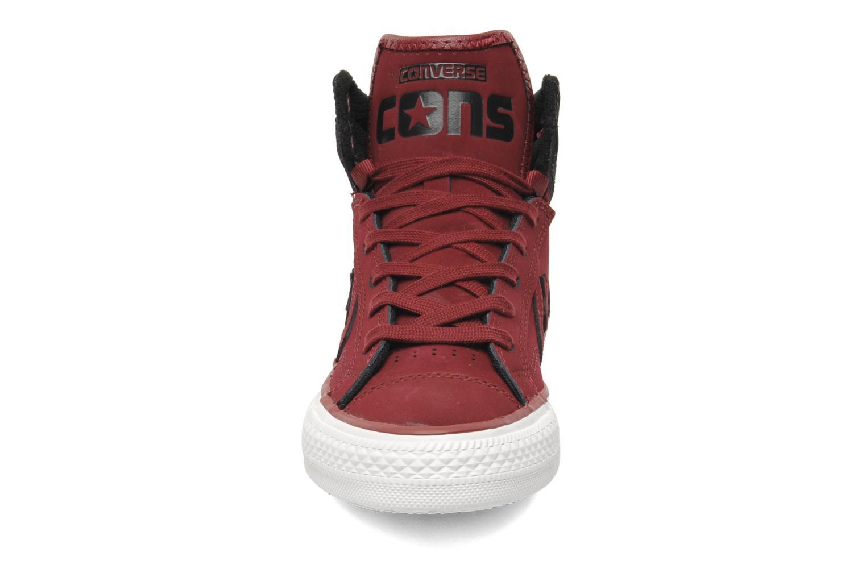 Baskets Converse Star Player Plus Tonal W Bordeaux vue portées chaussures