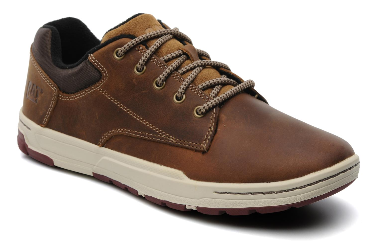 Trainers Caterpillar Colfax Brown detailed view/ Pair view
