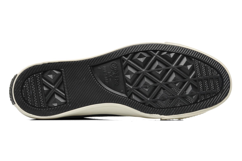 Sneakers Converse Chuck Taylor Burnished Suede Double Zip Hi M Svart bild från ovan