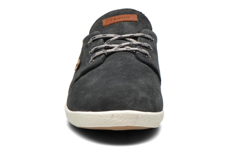 Baskets Faguo Cypress Suede Gris vue portées chaussures