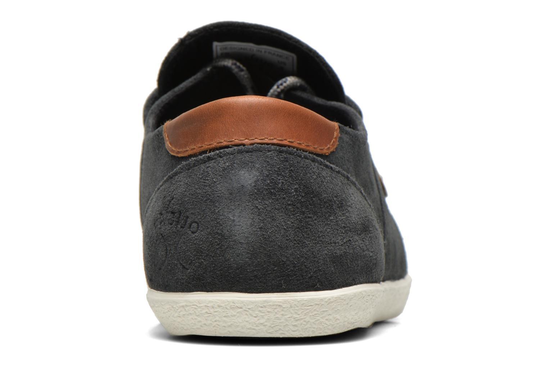 Sneakers Faguo Cypress Suede Grijs rechts