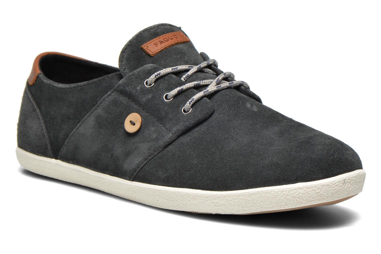 Sneakers Faguo Cypress Suede Grijs detail