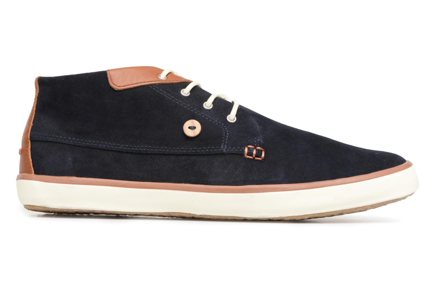 Trainers Faguo Wattle Suede Blue back view