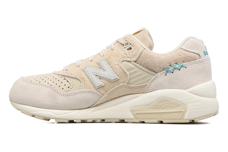 Sneaker New Balance WRT580 weiß ansicht von vorne