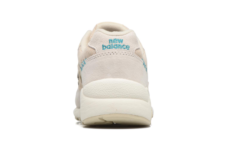 Sneaker New Balance WRT580 weiß ansicht von rechts