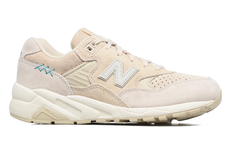 Sneaker New Balance WRT580 weiß ansicht von hinten