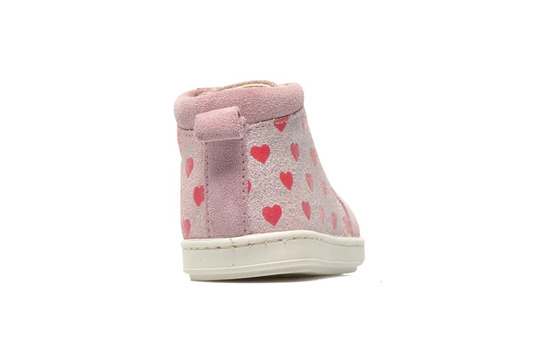 Bottines et boots Shoo Pom Bouba Bump Rose vue droite