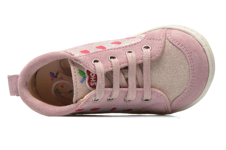 Bottines et boots Shoo Pom Bouba Bump Rose vue gauche
