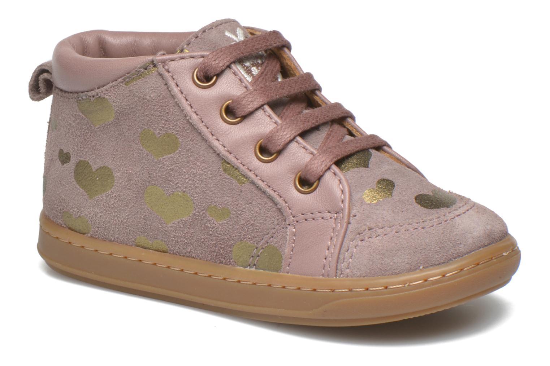 Ankelstøvler Shoo Pom Bouba Bump Pink detaljeret billede af skoene