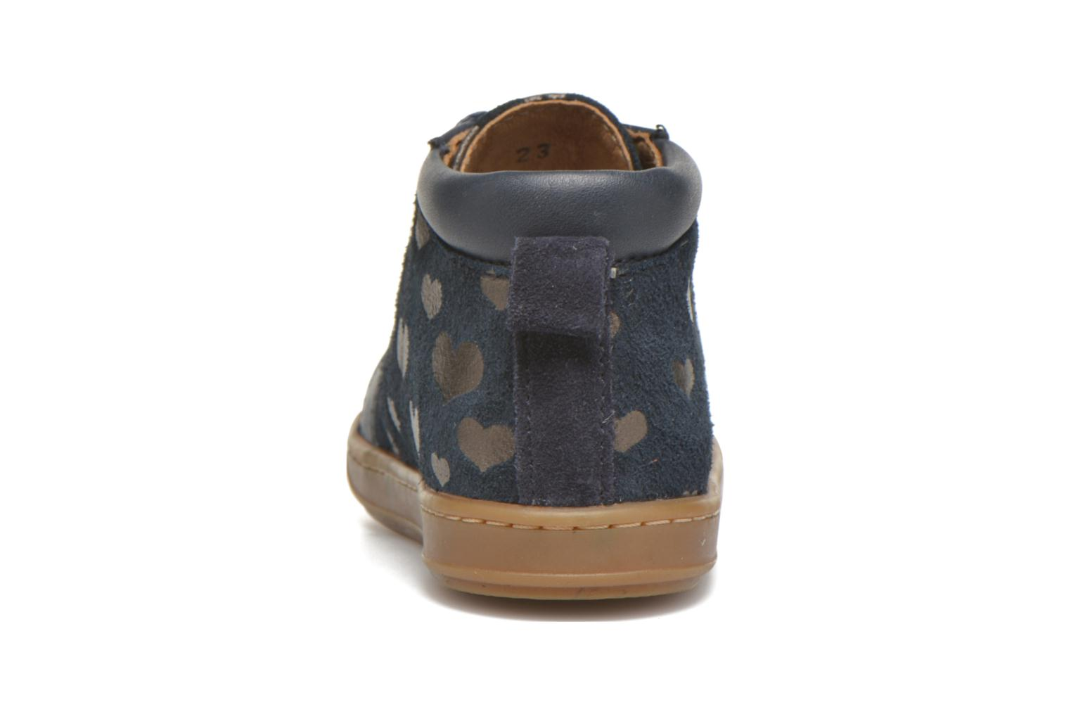 Ankle boots Shoo Pom Bouba Bump Blue view from the right