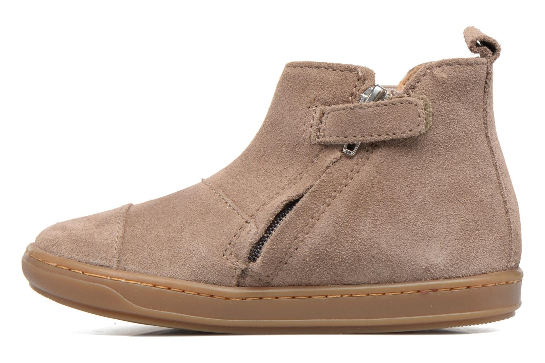 Ankle boots Shoo Pom Bouba Apple Beige front view