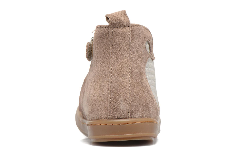 Bottines et boots Shoo Pom Bouba Apple Beige vue droite