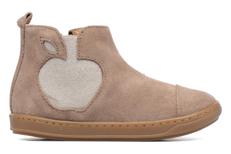 Ankle boots Shoo Pom Bouba Apple Beige back view