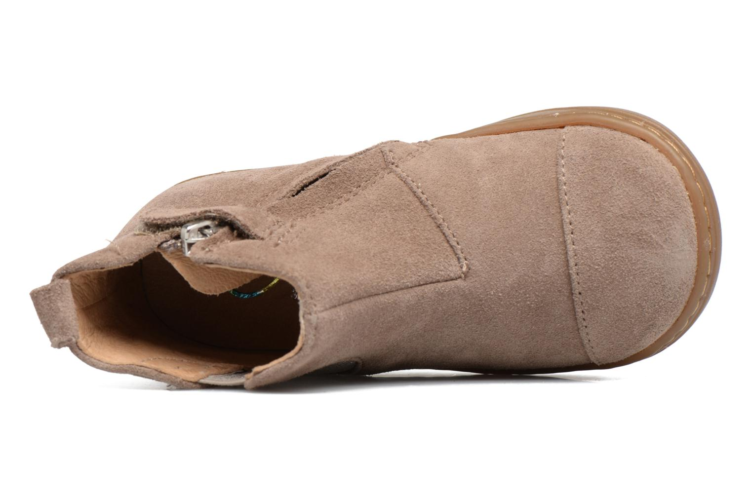 Ankle boots Shoo Pom Bouba Apple Beige view from the left