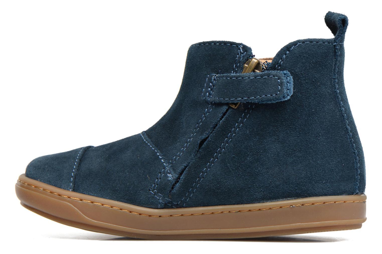 Ankle boots Shoo Pom Bouba Apple Blue front view