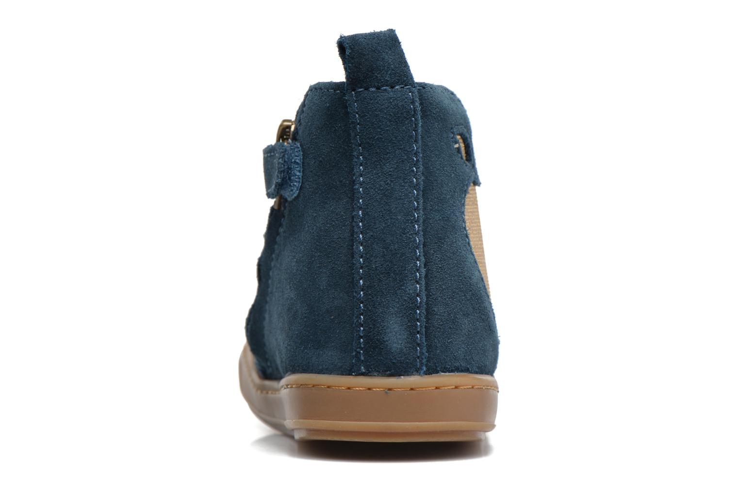 Ankle boots Shoo Pom Bouba Apple Blue view from the right