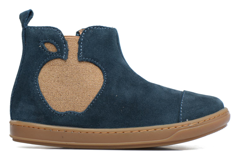 Ankle boots Shoo Pom Bouba Apple Blue back view