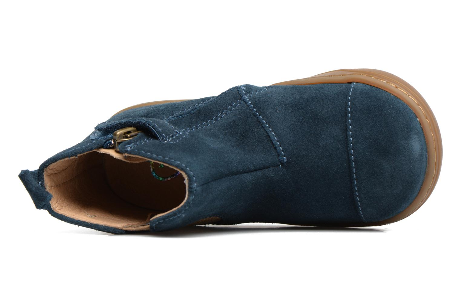 Ankle boots Shoo Pom Bouba Apple Blue view from the left