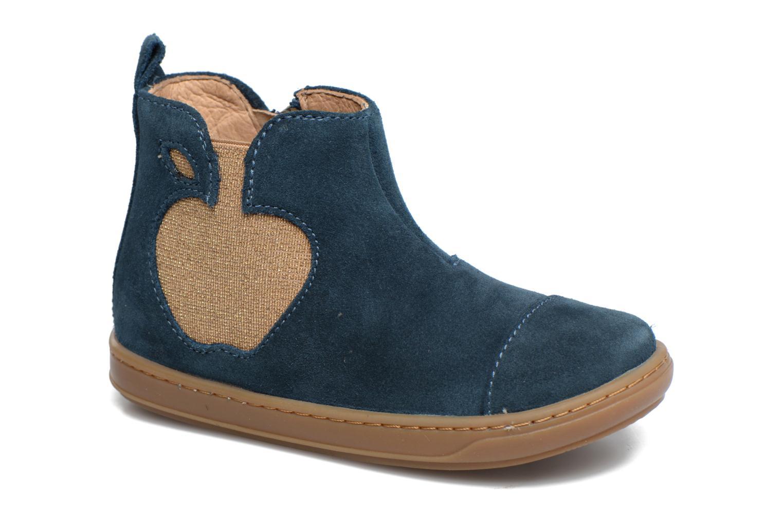 Bottines et boots Shoo Pom Bouba Apple Bleu vue détail/paire
