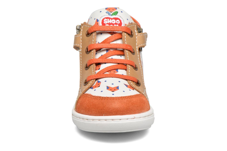 Bottines et boots Shoo Pom Bouba Bi Zip Marron vue portées chaussures