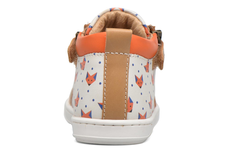 Bottines et boots Shoo Pom Bouba Bi Zip Marron vue droite