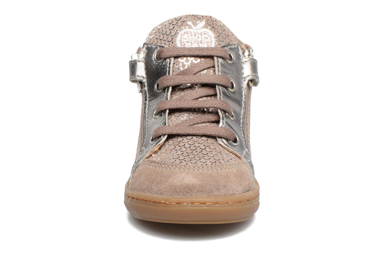 Bottines et boots Shoo Pom Bouba Bi Zip Rose vue portées chaussures