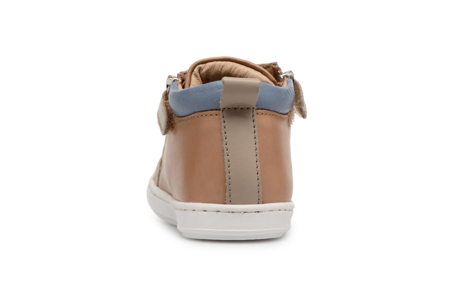 Ankle boots Shoo Pom Bouba Bi Zip Brown view from the right