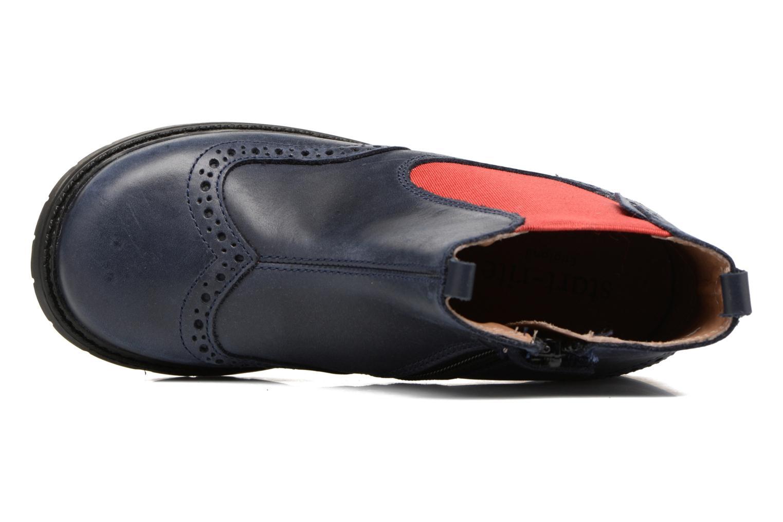 Stiefeletten & Boots Start Rite Digby blau ansicht von links