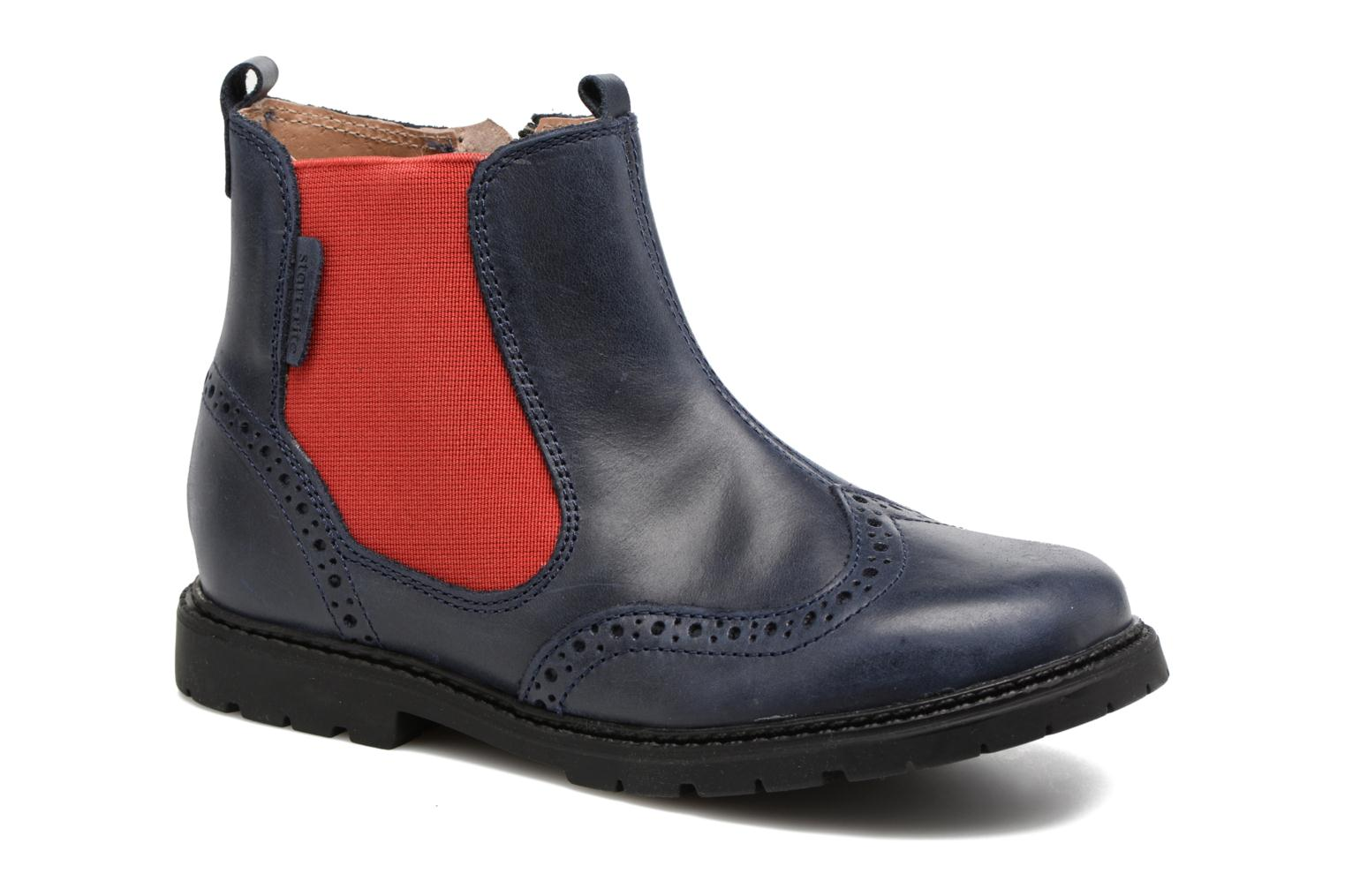 Digby Navy leather