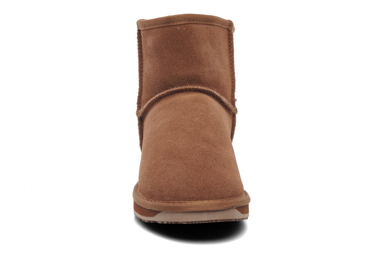 Bottines et boots Boo roo Minnie Marron vue portées chaussures