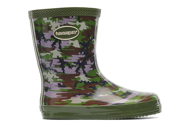 Boots & wellies Havaianas Aqua Kids Camuflada Green back view