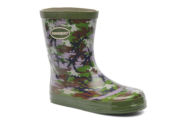 Boots & wellies Havaianas Aqua Kids Camuflada Green detailed view/ Pair view