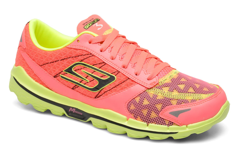 Marques Chaussure femme Skechers femme GO Run 3 13927 Hot Pink Lime
