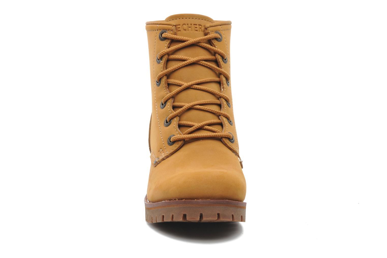 Stiefeletten & Boots Skechers Laramie 2 47808 braun schuhe getragen