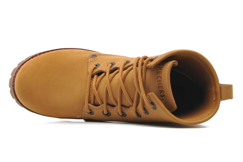 Boots en enkellaarsjes Skechers Laramie 2 47808 Bruin links