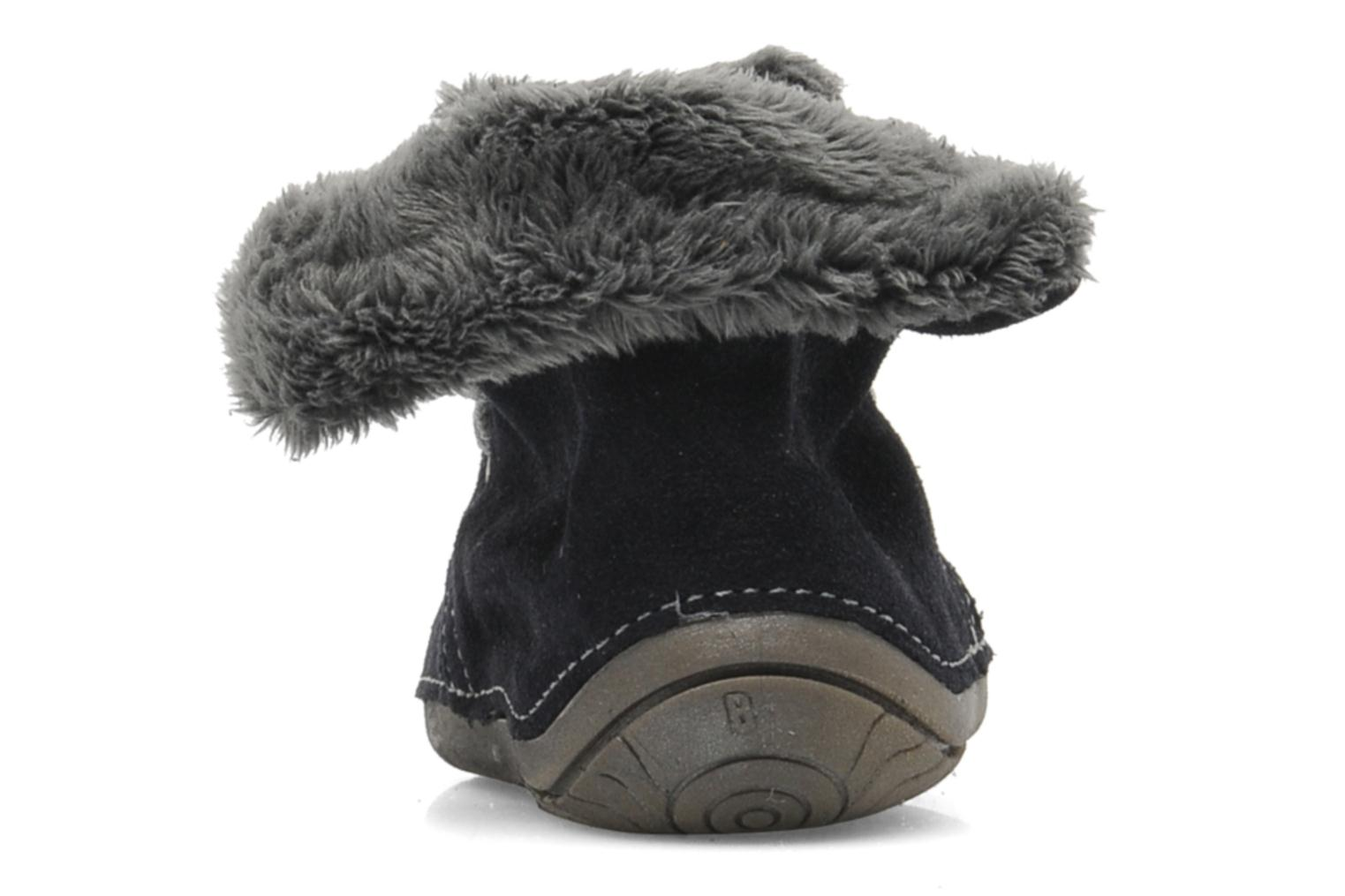 Slippers Babybotte ZOUK Blue view from the right
