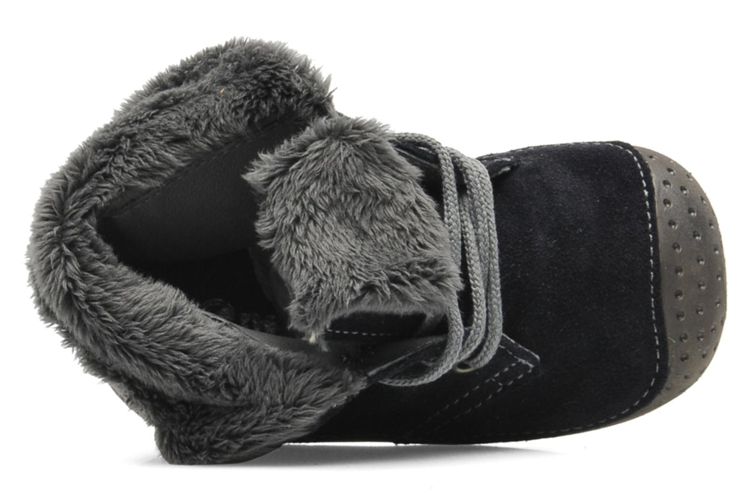 Slippers Babybotte ZOUK Blue view from the left