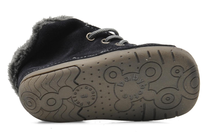 Pantoffels Babybotte ZOUK Blauw boven